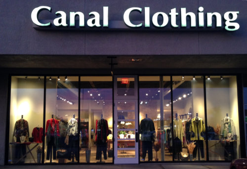Canal Clothing Store Front
